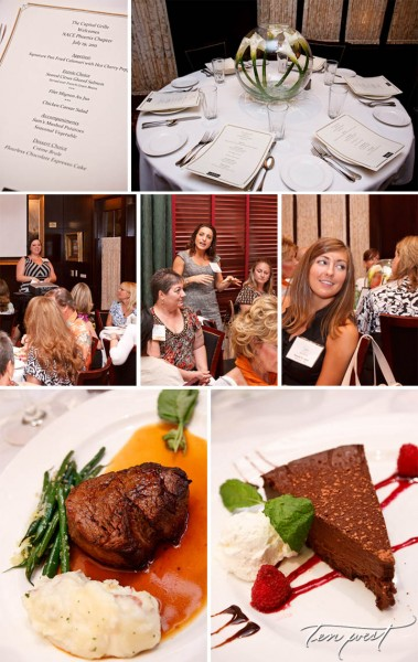 Capital Grill collage